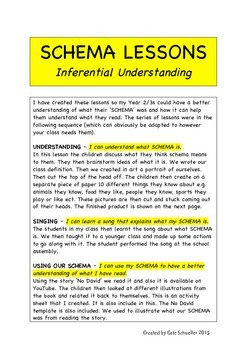 SCHEMA - Lessons on Making Connections