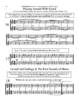 SCHNIBBLES for Two; Saxophone BUNDLE (Alto & Tenor)