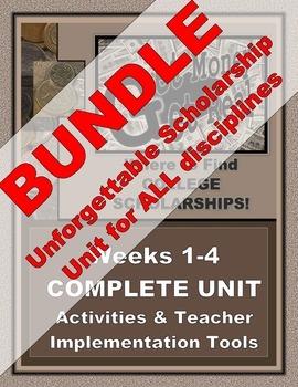 "SCHOLARSHIP UNIT - BUNDLE -  ""Get Money: Get Real"" for ALL-Disciplines!"