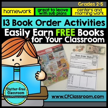 BOOK ORDER ACTIVITIES | BOOK CLUB | LITERATURE CIRCLES  | EARN FREE BOOKS