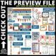 CHALKBOARD THEME Classroom Decor - EDITABLE Clutter-Free C
