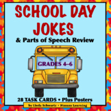 SCHOOL DAY JOKES • PARTS OF SPEECH REVIEW • GRADES 4–6