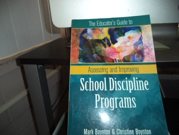 SCHOOL DISCIPLINE PROGRAMS