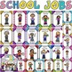 SCHOOL JOBS/WORKERS {SCHOOL COMMUNITY} BACK TO SCHOOL
