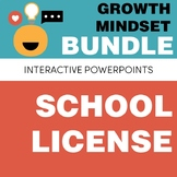 SCHOOL LICENSE – Growth Mindset Complete Bundle