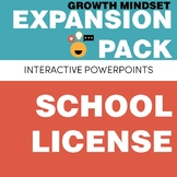 SCHOOL LICENSE – Growth Mindset Expansion Pack