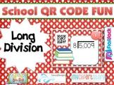 SCHOOL LONG DIVISION QR Code Fun