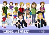 SCHOOL MEMBERS CLIP ART