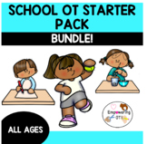 SCHOOL OCCUPATIONAL THERAPY STARTER PACK BUNDLE! SPED OT fine motor visual motor