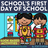 SCHOOL'S FIRST DAY OF SCHOOL Activities and Read Aloud Lessons