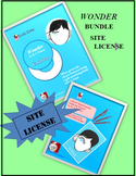 Wonder by R. J. Palacio Unit and Read-Aloud Guide BUNDLE SCHOOL SITE LICENSE