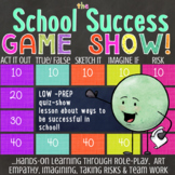 SCHOOL SUCCESS Quiz Show Counseling Guidance Lesson: Student Achievement Tips
