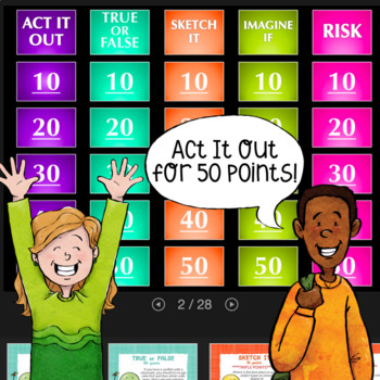 SCHOOL SUCCESS Quiz Show Counseling Guidance Lesson: Student Achievement Tips
