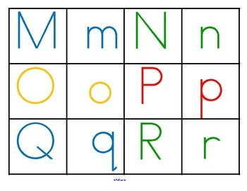 SCHOOL TIME  FUN Alphabet Centers Upper and Lower Case, Beginning Sounds