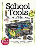 SCHOOL TOOLS: GAME OF MEMORY