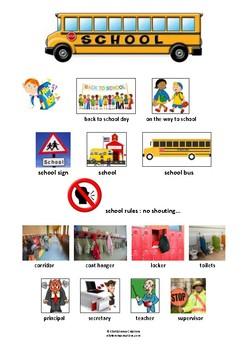 SCHOOL - PICTIONARY