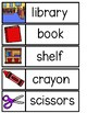 SCHOOL Word Cards {Capital & Lowercase}