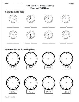 SCHOOL YEAR Worksheets for 1st Grade Math Common Core aligned
