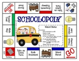 SCHOOLOPOLY--School Rules
