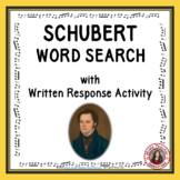 SCHUBERT Word Search and Research Activity