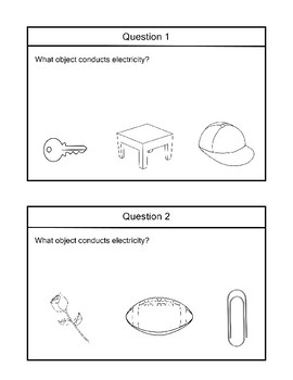 SCI 4.1 Electrical Outlet Safety & What Conducts Electricity Extended Standard