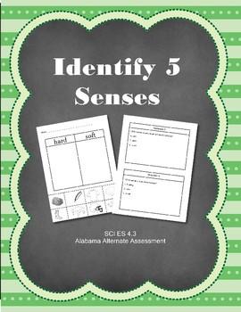 SCI 4.3 Identify 5 Senses Extended Standard Alabama Alternate Assessment