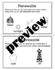 SCI.AAS.4.5 Resources Renewable and Nonrenewable  Alabama Alternate Assessment