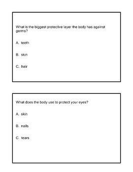 SCI ES 11.4 Identify The Body's Line of Defense AAA Extended Standards