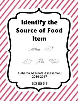 SCI ES 5.3 Food Chainl NEW Alabama Alternate Assessment Extended Standards