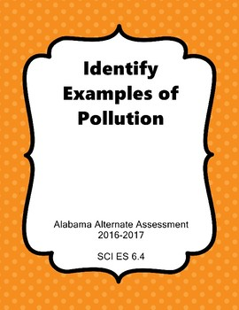 SCI ES 6.4 Identify Pollution Extended Standards AAA