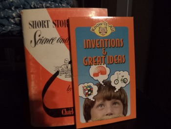 SCIENCE AND INVENTION , GREAT IDEAS    (set of 2)
