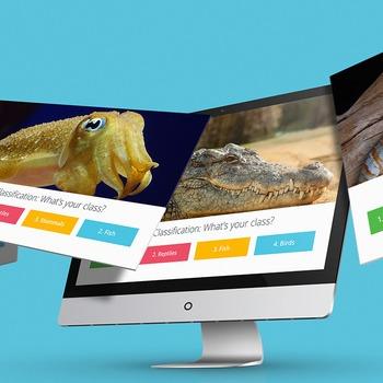SCIENCE: Animal Classification: Class Trivia - Interactive