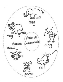 SCIENCE:  Animals and How They Communicate for Young Artists
