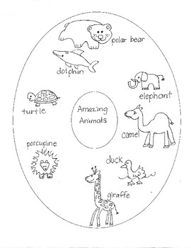 """SCIENCE:  """"Animals and Their Amazing Body Parts"""" for Young Artists"""