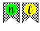 SCIENCE BANNER--Polkadots and Bright Letters