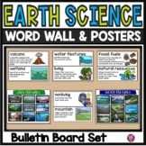 Earth Science Vocabulary and Words Walls