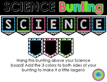 SCIENCE Bunting ~ Brights
