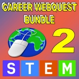 SCIENCE CAREER WEBQUEST BUNDLE 2 (20 Career Internet Assignments)
