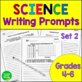 Science Journal Prompts Constructed Responses