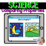 SCIENCE: Comparing Properties of Objects [Boom Cards]