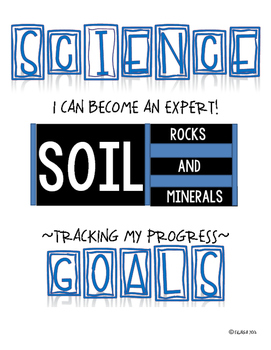 SCIENCE DATA SHEETS - SOIL, ROCKS & MINERALS VOCAB, OBJECT