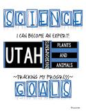 SCIENCE DATA SHEETS UTAH ENVIRONMENTS, PLANTS & ANIMALS VO
