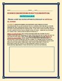 SCIENCE/ENGINEERING/ROBOTICS: CONTEST: DESIGN  A GIL SYSTEM, APPARATUS