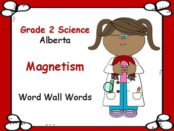 SCIENCE ~ Magnetism ~ Word Wall Words