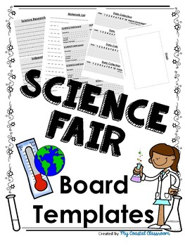 SCIENCE FAIR Templates for Boards