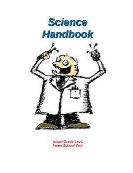 SCIENCE HANDBOOK: Beginning of School Year