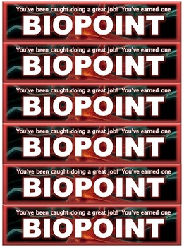 SCIENCE INCENTIVES: BIOPOINTS
