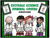 EDITABLE SCIENCE JOURNAL COVERS