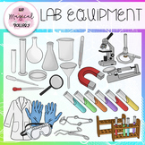 SCIENCE LAB EQUIPMENT AND TOOLS CLIP ART