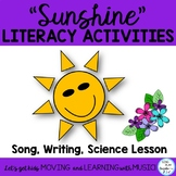 "Sun Literacy activities and Song ""Sunshine, Sunshine"""
